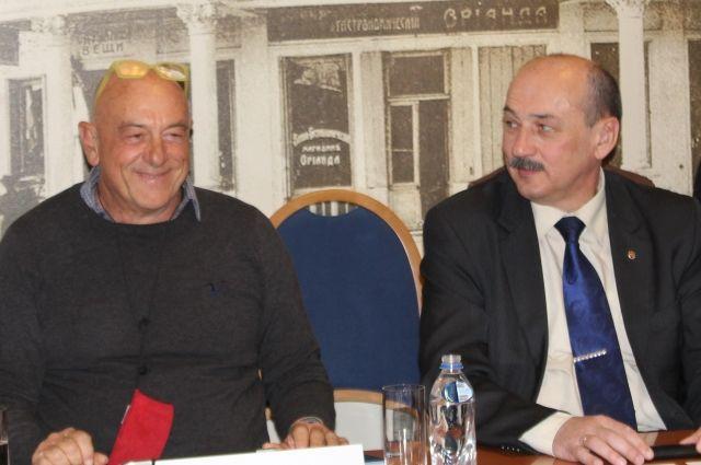 Паоло Мэй и Сергей Стрельбицкий
