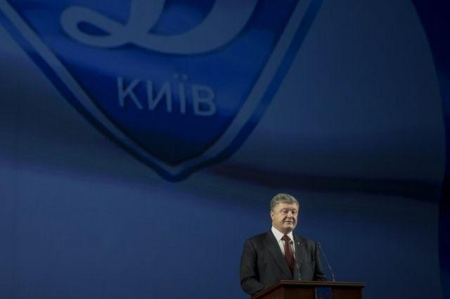 Порошенко посетил премьеру фильма «Лобановский навсегда»