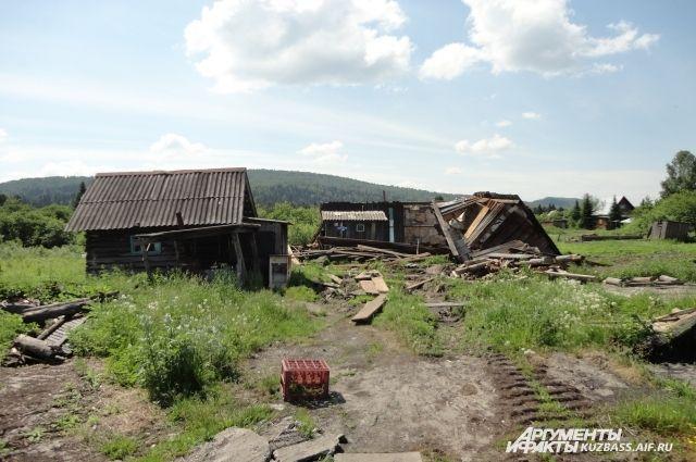 «Прощание с Матёрой» по-шорски. Казас - не первый посёлок, который пострадал от наступления индустриальной эпохи.