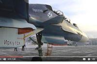 Новый истребитель Су-30СМ «Иркутск».