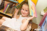 В наше время ещё остались дети, которые любят читать.