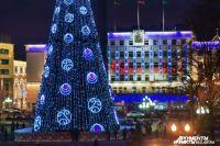 Калининград украсят по-новогоднему к 10 декабря.
