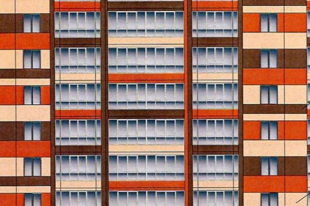 Проект многоэтажки по ул. М. Залка