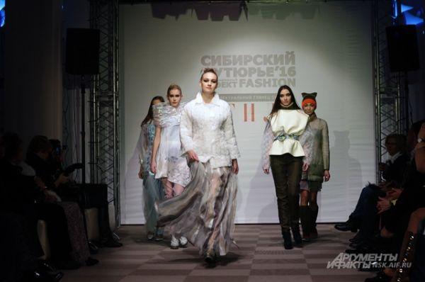 Красноярцы показали много моделей прет-а-порте (городской костюм), барнаульцы удивили смелым авангардом.