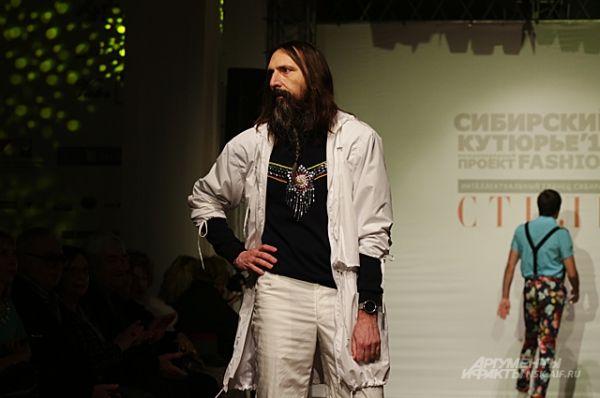 Некоторые дизайнеры показали даже полностью мужские коллекции