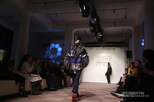 Гран-при конкурса получил, кстати, тоже мужчина -  новосибирец Роман Романовский за коллекцию одежды