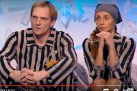 Андрей Бурковский и Татьяна Навка. Фото: Ледниковый Период/