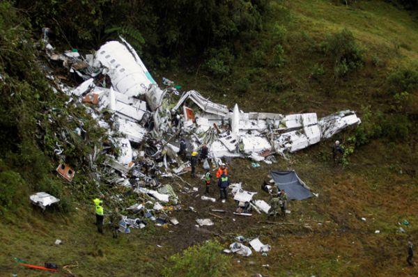 Самолет пропал с радаров в районе города Рионегро.