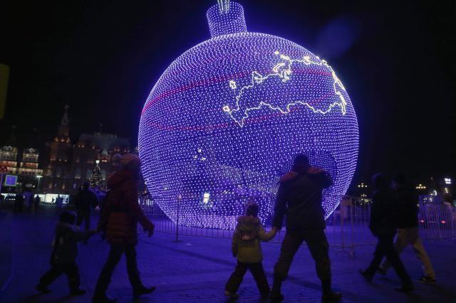 В российской столице установят наибольшую вмире елочную игрушку
