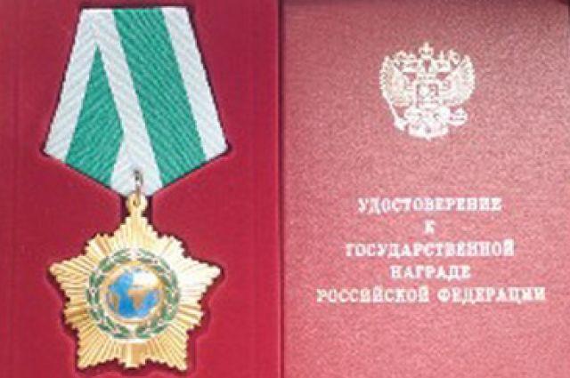 Сергей Чернов награжден Орденом Дружбы за вклад в строительства Энергомоста  в Крыму.