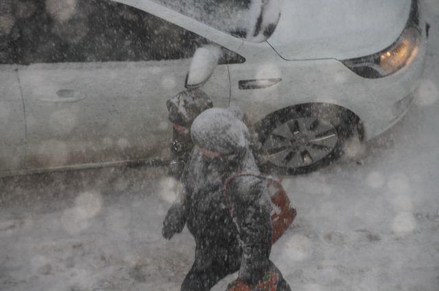 Снег завалил Алтайский край, не дождавшись зимы.