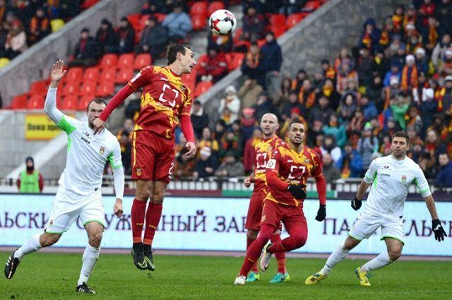 «Рубин» обыграл тульский «Арсенал» в заключительном домашнем матче 2016 года