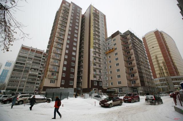 Дом на ул. Кошурникова почти готов к заселению