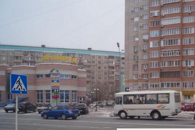 Место ДТП.