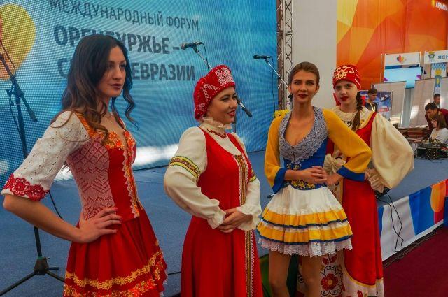 Многонациональное Оренбуржье два дня принимало гостей из евразийского Союза.