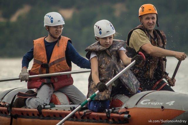 Отдыхать вместе с детьми - одно из правил «Поморского папы».