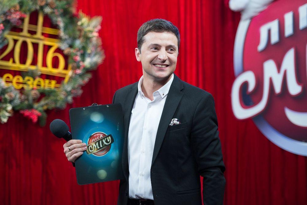 Ведущий вечера Владимир Зеленский