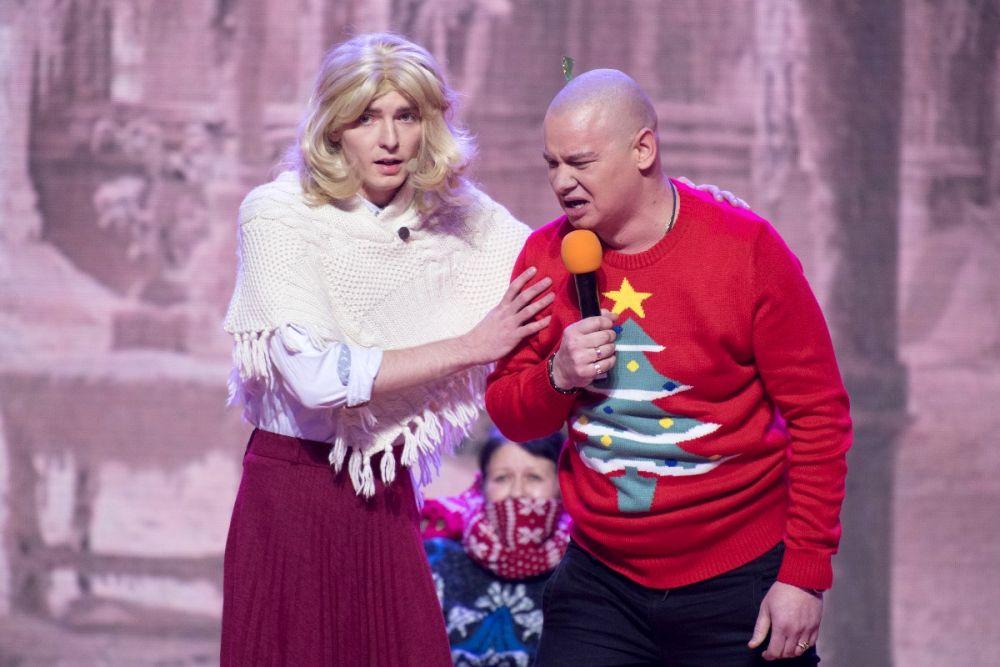 Евгений Кошевой веселил зрителей вместе с финалистами