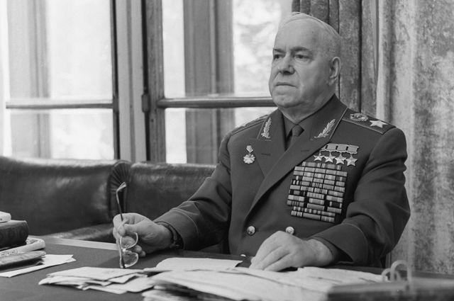 Георгий Жуков. 1971 г.