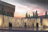 Так будет выглядеть памятник, который откроют 30 октября 2017 г. в Москве (по материалам Фонда Памяти).