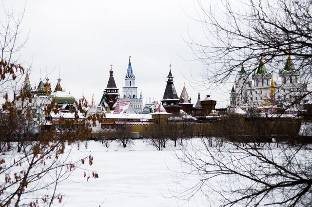 Измайловский кремль в Москве.