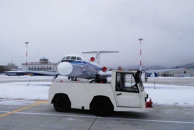 ЧП произошло в аэропорту в г. Богучаны.