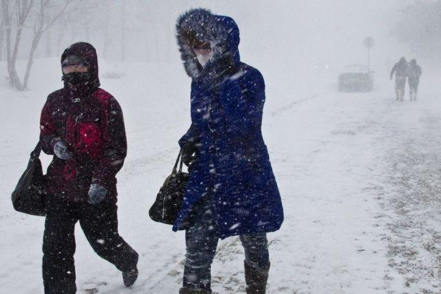 МЧС: Циклон несет наКамчатку снег иштормовой ветер