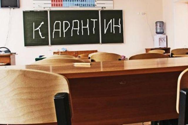 ВДнепропетровской области школы закрылись накарантин