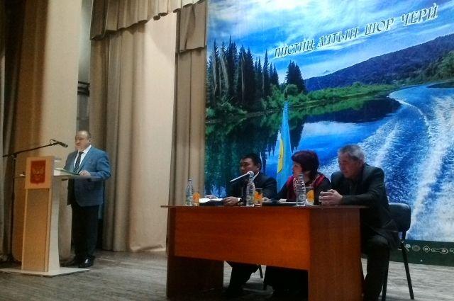Выборы нового паштыка прошли в Таштагольском районе.