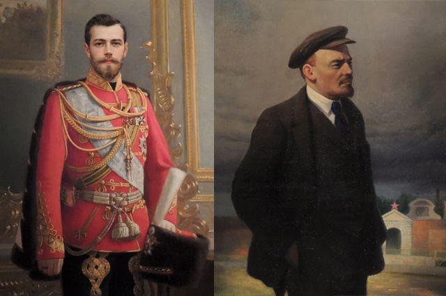 Тайна холста. Как за портретом Ленина нашли изображение Николая II |  События | КУЛЬТУРА | АиФ Санкт-Петербург