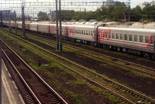 ВТюменском районе женщина угодила под поезд