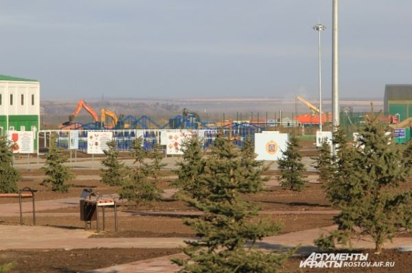 На территории дивизии строительство базы продолжится в 2017 году.
