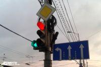 Изменен режим работы светофоров у моста на улице Суворова.