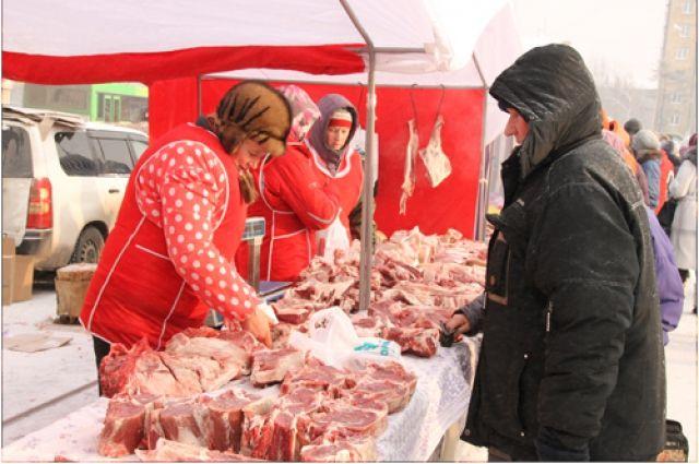 На фестивале продовольствия можно купить мясо кур, уток, гусей, кроликов