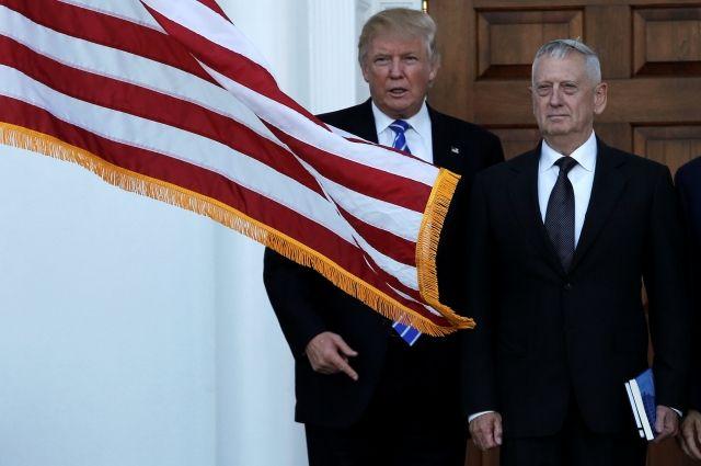 Трамп подтвердил намерение назначить генерала Мэттиса главой Пентагона