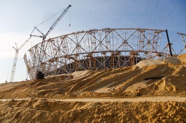 Настройплощадке стадиона «Волгоград Арена» умер рабочий