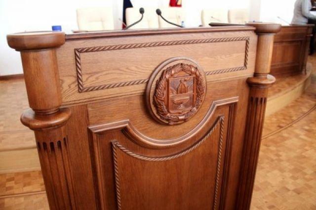 Бывший чиновник регионального парламента Алтайского края получил условный срок