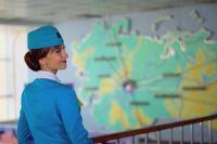 Рабочая неделя для Ксении начинается с полёта из Челябинска в Москву.