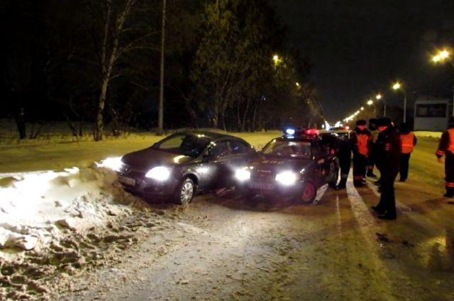 Пьяный водитель ехал со скоростью 170 км/ч.
