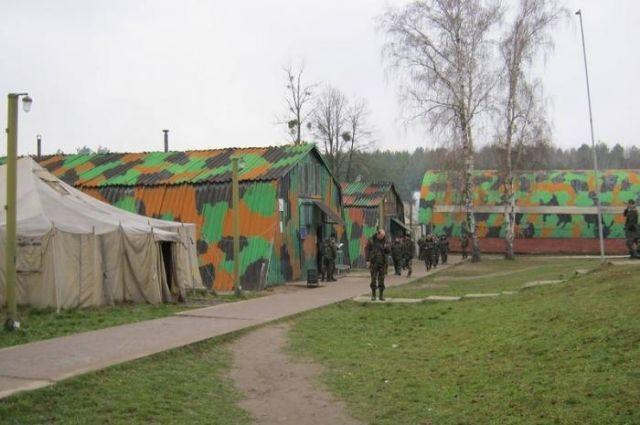 ВоЛьвовской области наполигоне нашли мертвым военнослужащего