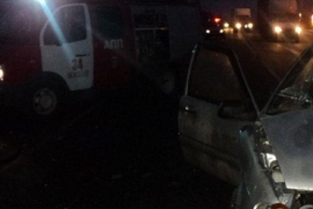 ВМокшанском районе вДТП пострадали 4 человека, втом числе младенец