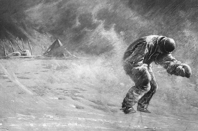 Англичанин Роберт Ф. Скотт — исследователь Антарктиды.