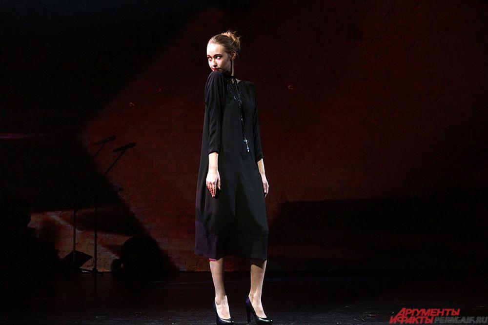 Конкурс модельеров «Чёрное платье» прошёл на малой сцене Театра-Театра вечером в пятницу, 3 декабря.