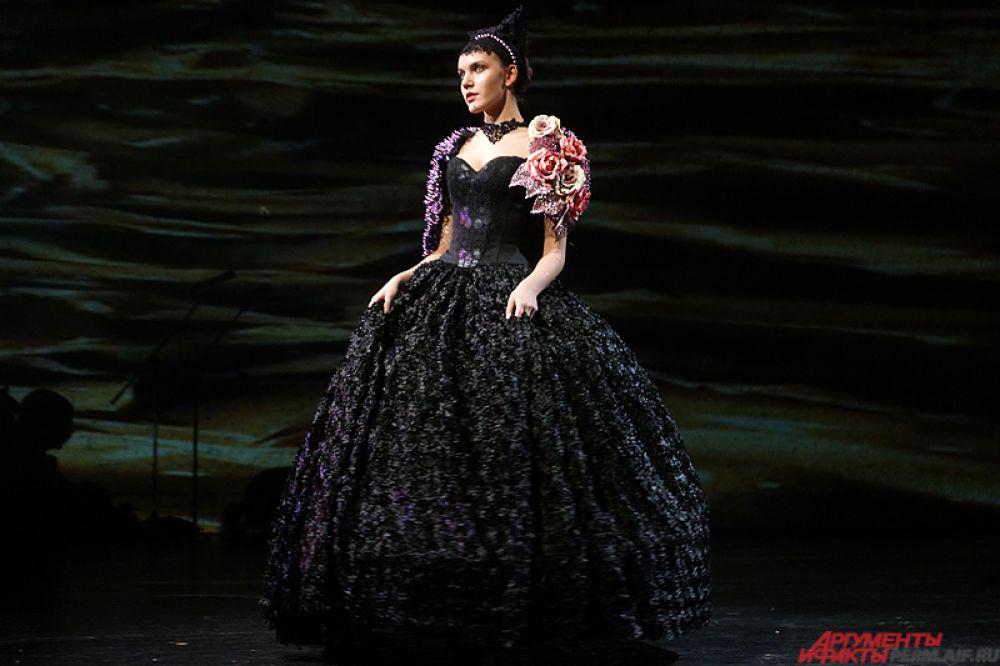 В зависимости от номинации, менялся формат платья.