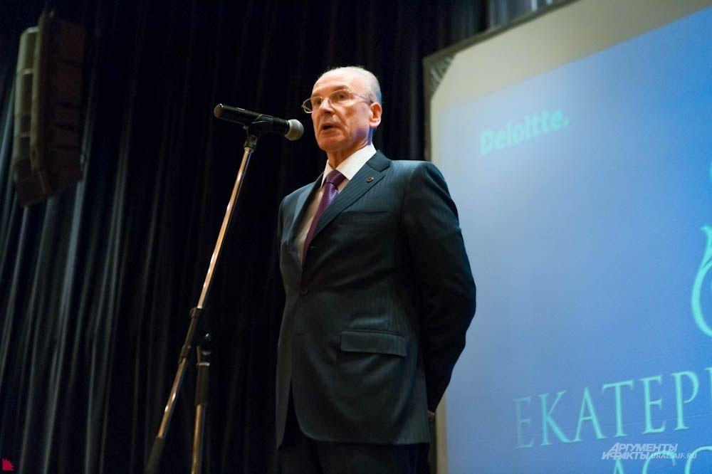 Владимир Черкашин - председатель Уральского банка Сбербанка России