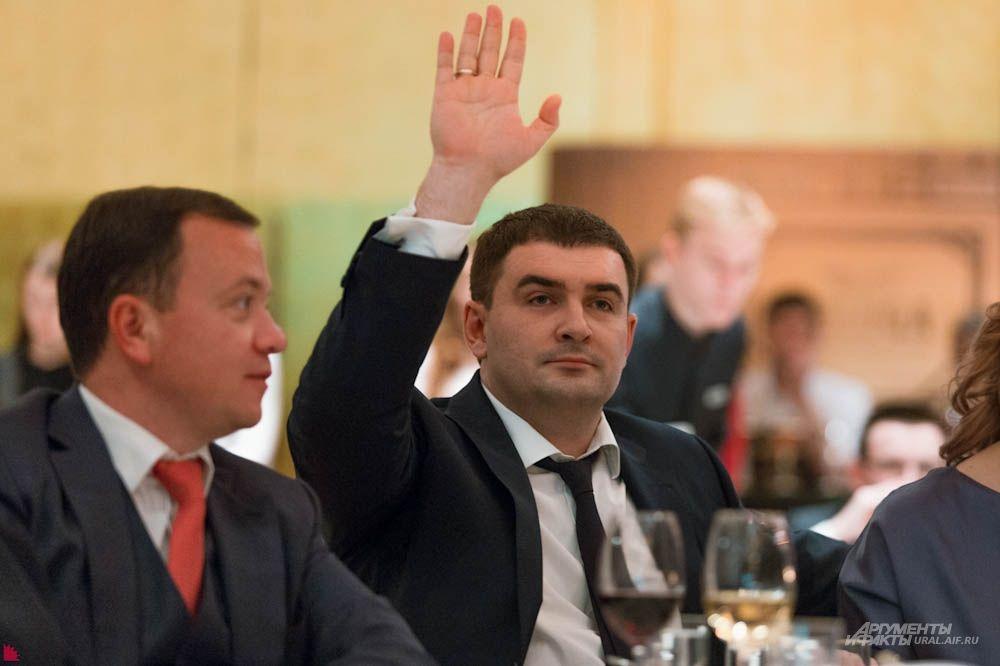 Генеральный директор «Облкоммунэнерго» Дмитрий Буданов