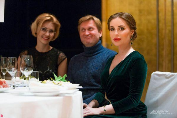 Юлия Михалкова и Андрей Рожков -