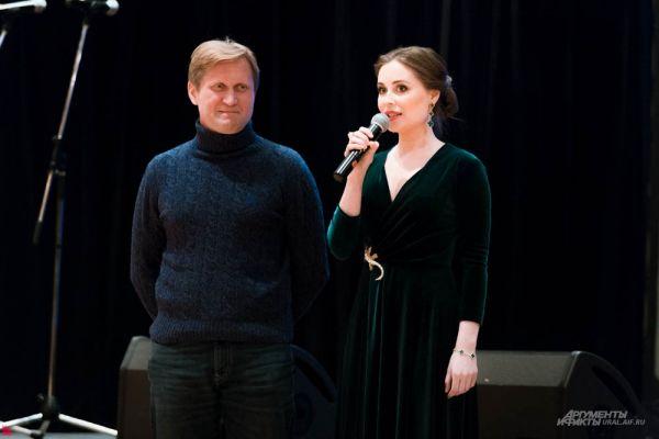 Андрей Рожков и Юлия Михалкова в качестве