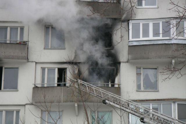 Из-за короткого замыкания едва несгорела квартира вУльяновске