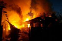 В пожаре на севере края погибли дети.